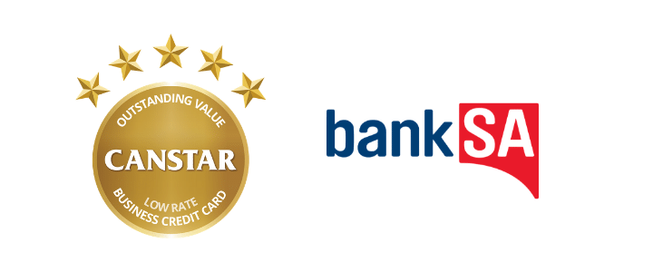 2019 Business Credit Cards Award Winner- BankSA
