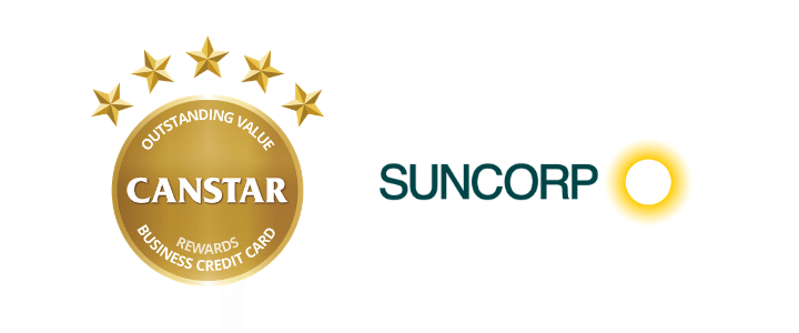 2019 Business Credit Cards Award Winner- Suncorp