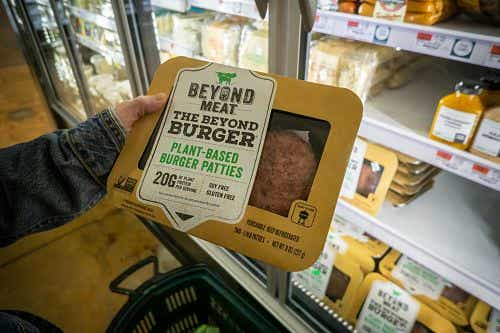 Beyond Meat lists on the US stock market