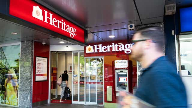 Heritage Bank branch expansion plans