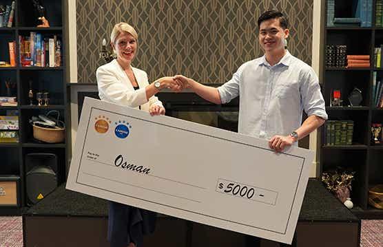 Canstar Future of Finance Scholarship Winner