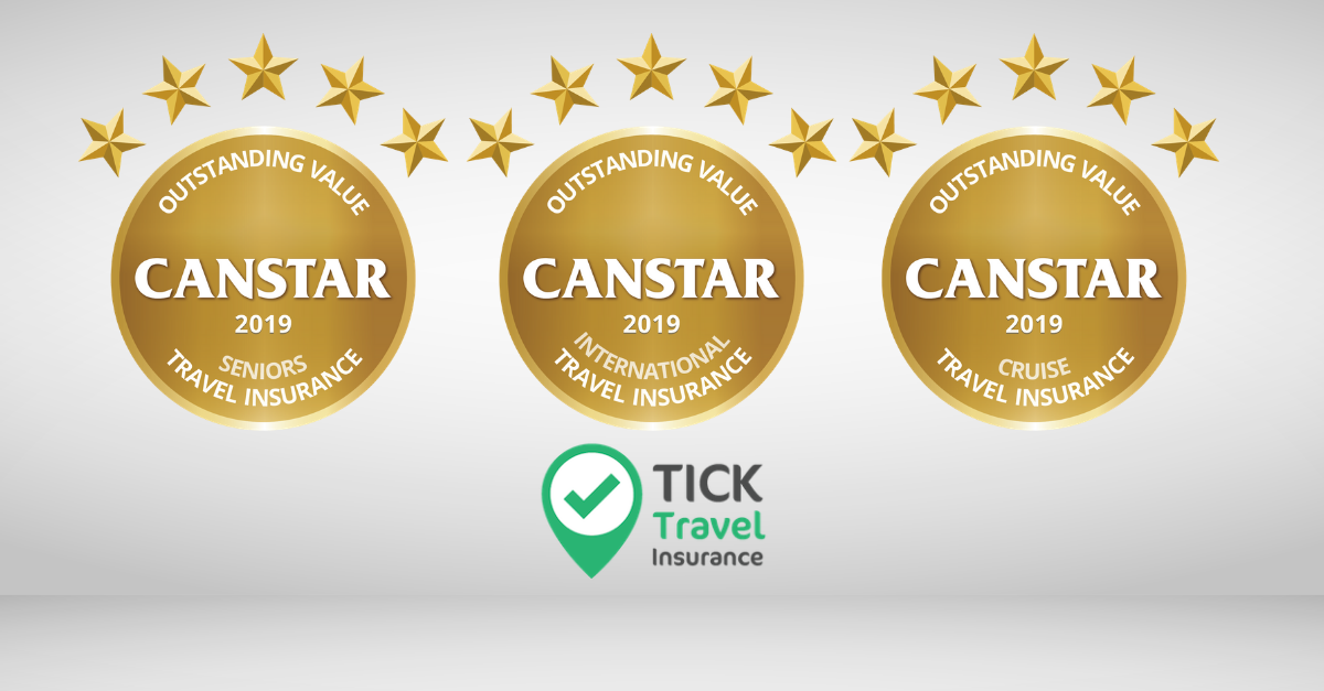 2019 Travel Insurance Award Winner - Tick Tock