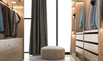 Create your dream walk-in-wardrobe with these design ideas