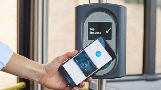 American Express contactless payments on Sydney bus network_article