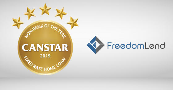 Fixed Rate Award Winner 2019 Freedom Lend
