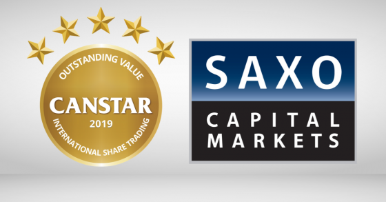 saxo capital markets share trading award winner