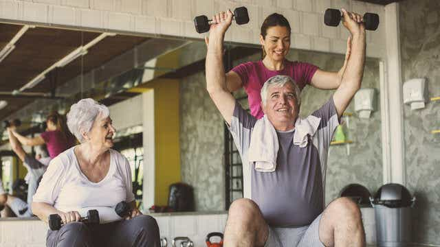 Aged care exercise classes