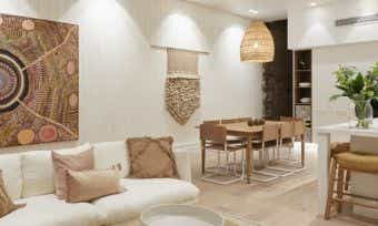 Relaxed living: The Block 2019 dining and lounge room reveal photos