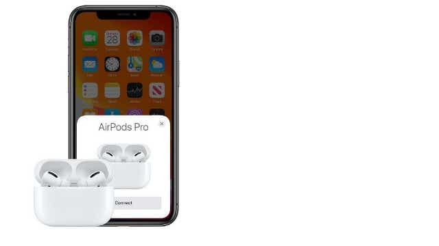 The new Apple Airpod Pro in their charging case. Image: Apple