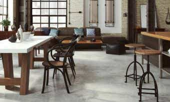 Fan of the industrial look? Cost to install a polished concrete floor
