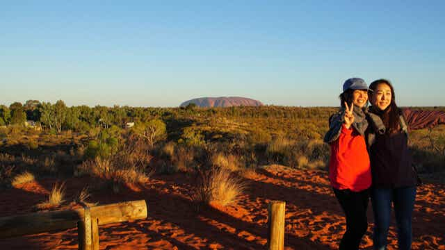 Best time to visit Uluru