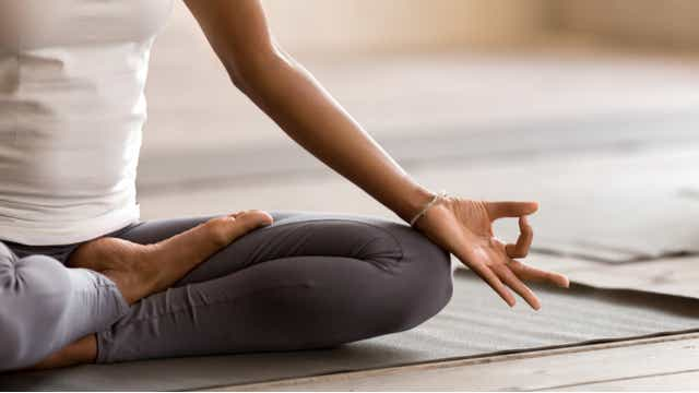 Treating burnout through yoga