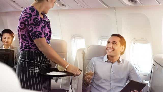 Air New Zealand Airpoint Status points can earn class upgrades