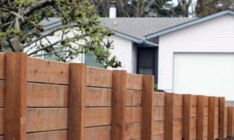 Retaining wall costs - are there ways to stop the expenses spilling over?