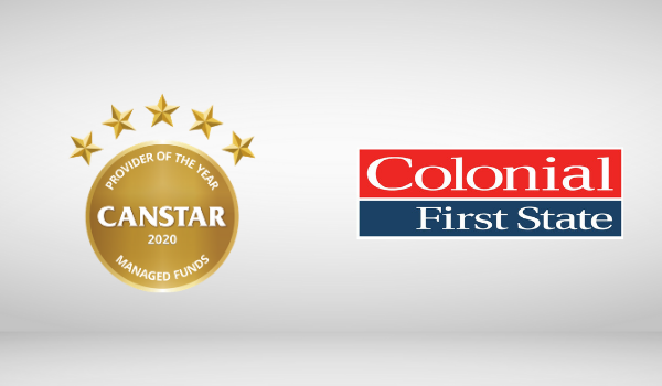 colonial first state managed fund award winner