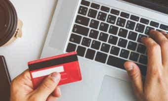 Is it safe to save my credit card details on shopping websites?