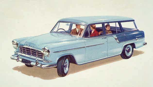 A classic Holden car.