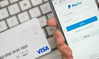 Is it better to use PayPal or a credit card for online purchases?