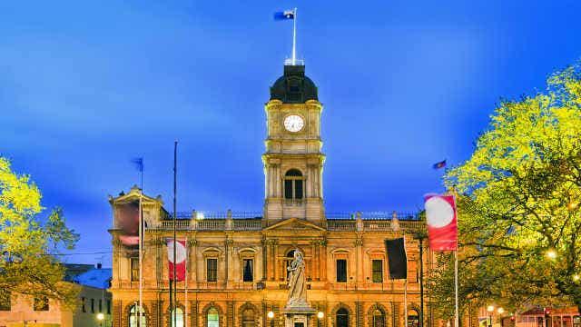 Ballarat Town Hall, Victoria