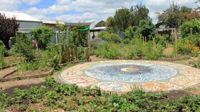 Yinnar Community Garden, Latrobe City, Gippsland, Victoria