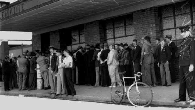 people during great depression
