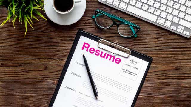 Updating resume
