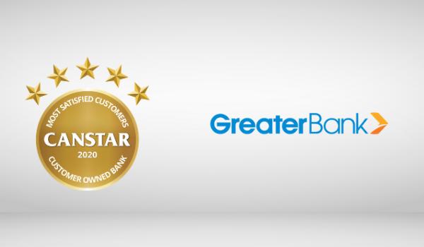 Greater Bank banking Award winner