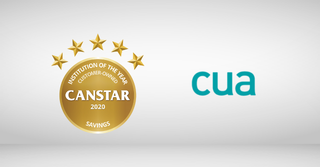 Customer Owned Institution - Savings Award 2020