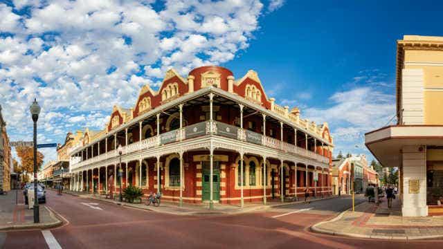 Historic buildings in Fremantle