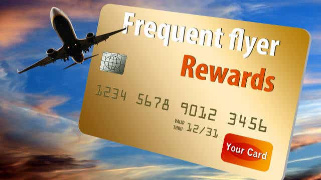 Frequent flyer card