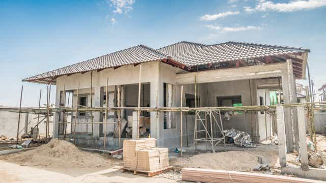 Home construction for an investment property that may have purchased using an interest-only loan
