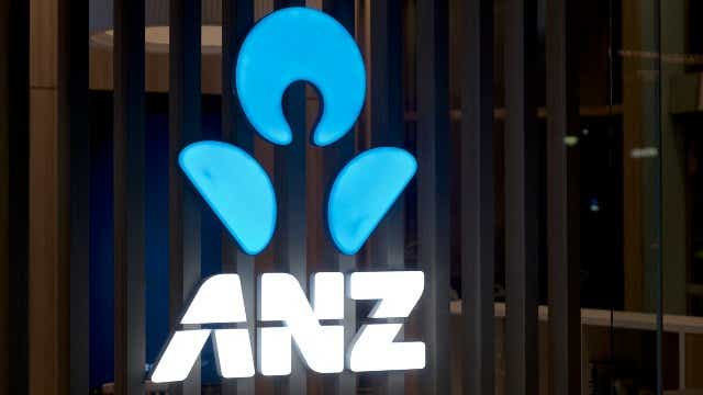 ANZ bank logo, savings cuts
