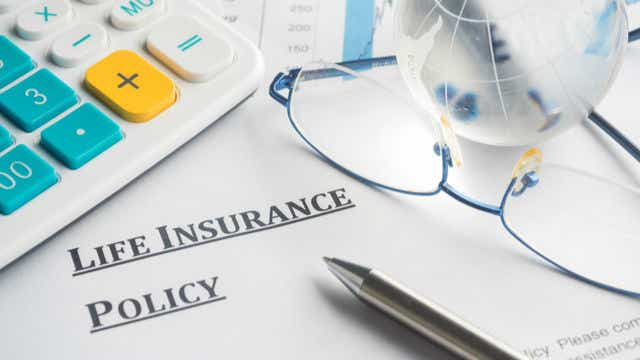 Life insurance policy written as text.