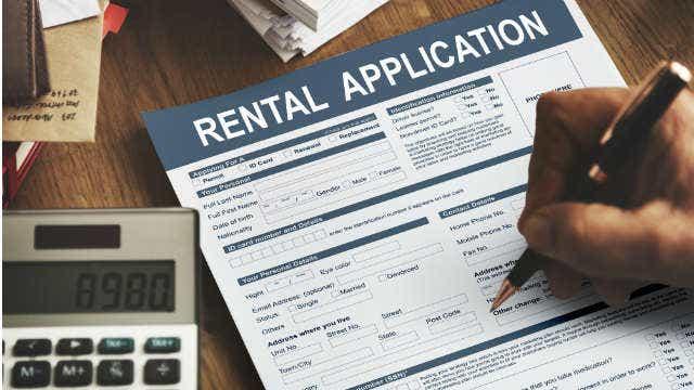 rental application bond