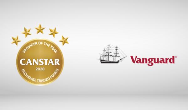 Vanguard ETF Award winner 2020