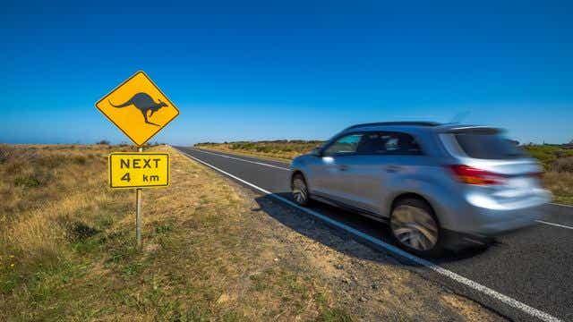 car trip Australia