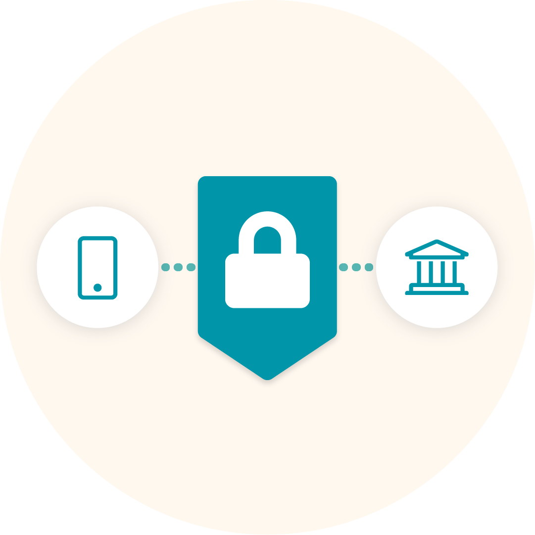 Bank-grade security image